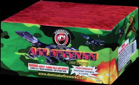 Air Defense 100 Shot | NCI, Inc. Indiana Fireworks Wholesale