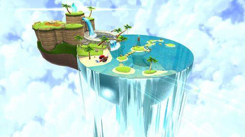 "places-in-games: ""Super Mario Galaxy - Beach Bowl Galaxy "" | Super mario  galaxy, Mario art, Super mario"