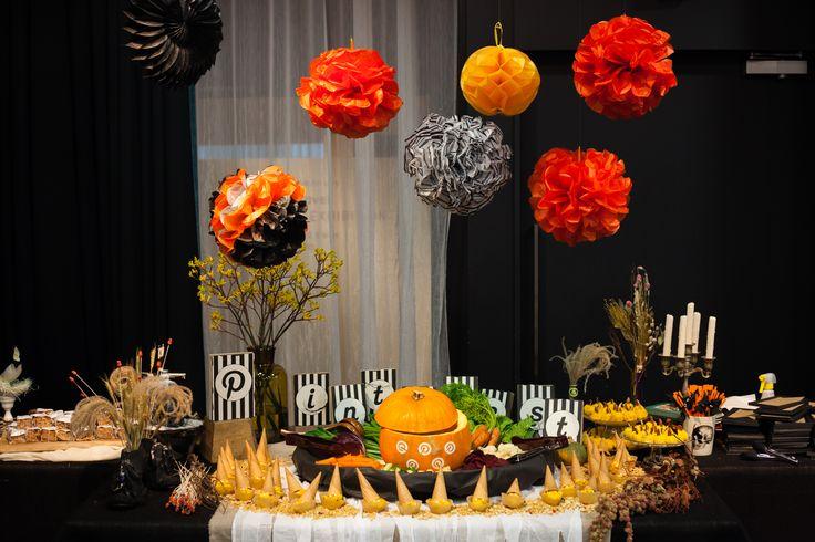 Pinterest Halloween Nightでのケータリング。可愛くて、味も栄養もばっちりでした。(Pinterest JapanのFacebookページより)