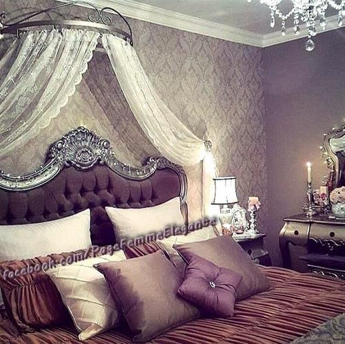 decor, bedroom, and modern image