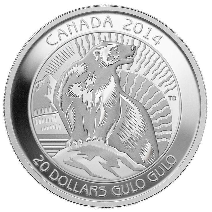 2014 $20 Fine Silver Coin - The Wolverine