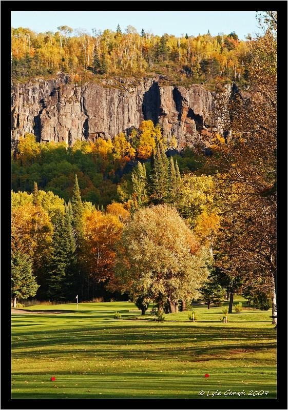 View Of Mount McKay, From Fort William Country Club, Thunder Bay