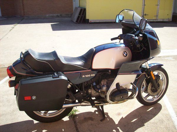 BMW R100 RS  still, after all these years, 1981 to be specific, my favorite ride.