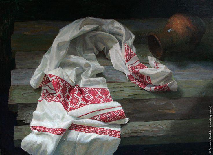 Bereavement. (oils on canvas 60х70cm)