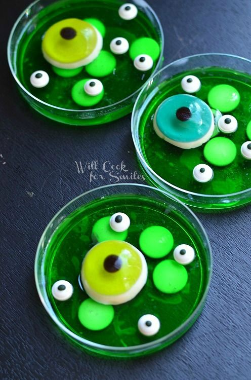 Monster Bash with JELL-O Jigglers 7  © willcookforsmiles.com #halloween #monster #jello