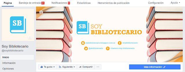 SOY BIBLIOTECARIO: Facebook: cómo ver las noticias de Soy Bibliotecar...
