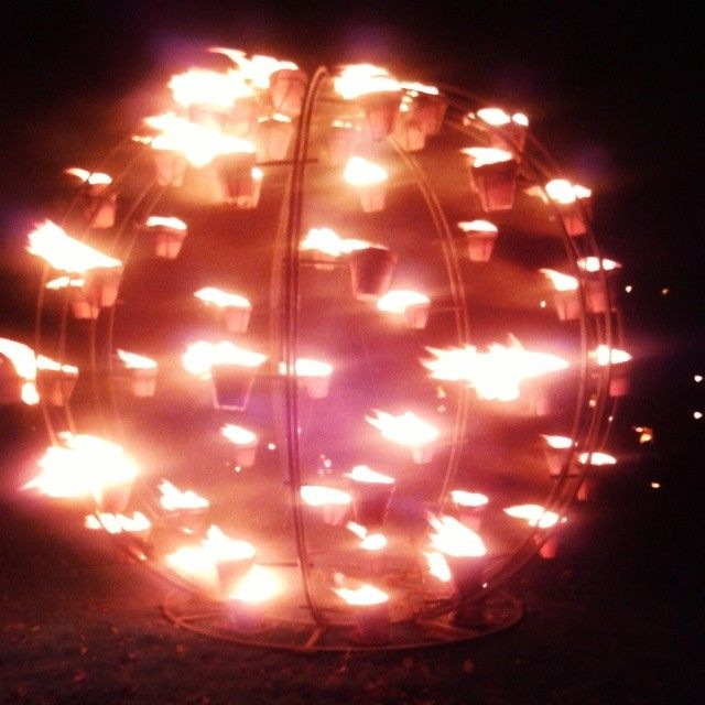Fire Ball By Compagnie Carabosse in St. Coumb's Park