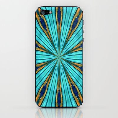 Blue Force iPhone & iPod Skin by Art-Motiva - $15.00