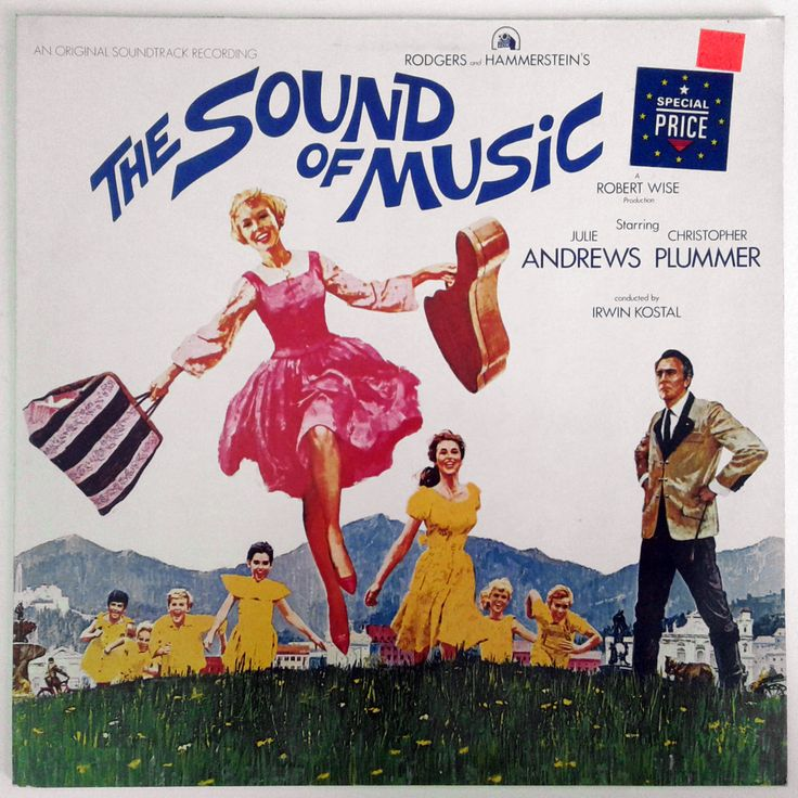 The Sound Of Music Ost Vinyl Record Printed In Germany Etsy Vinyl Records Sound Of Music Vinyl