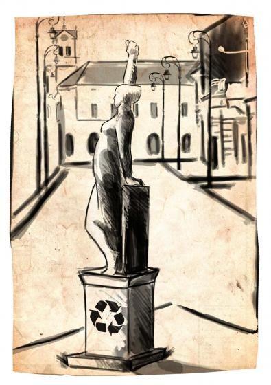 RECSIKLÁT, 2016...Kónya Albert Attila grafikája