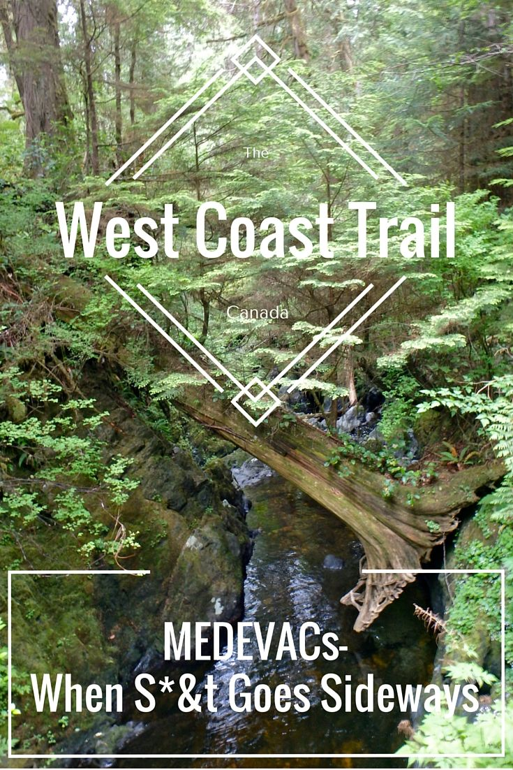 West Coast Trail Difficulty and Rescue – When S*&t Goes Sideways