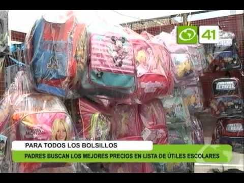 Padres buscan los mejores precios en lista de útiles escolares - Trujillo