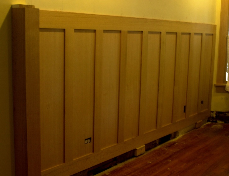 17 best images about wainscoting and paneled walls on for Arts and crafts wainscoting