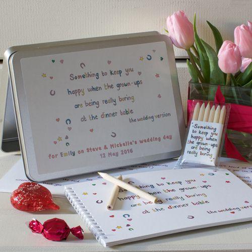 Something to keep you happy - Personalised Wedding Tin Version