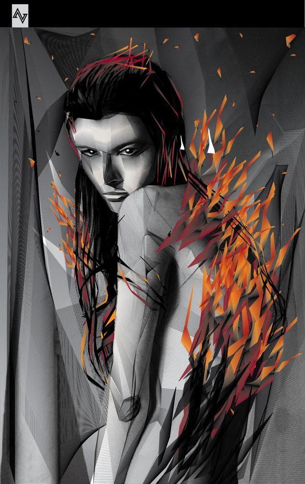 BLEND OF FIRE : BLEND SERIES by aed abit, via Behance