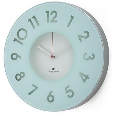 Michael Graves Design Celadon Wall Clock Jcpenney