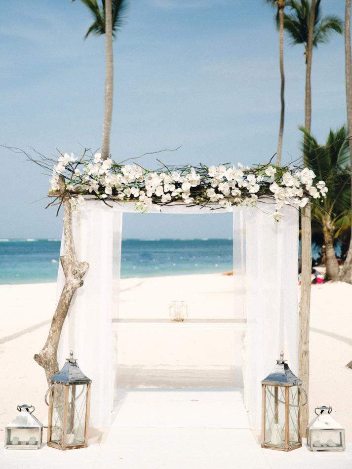 Once upon a time the beach, a beautiful girl and a boy who loves her! Joyful Destination Wedding in Jelly Fish Restaurant,  Punta  Cana, Dominican Republic!