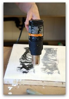 Excellent Encaustic Demonstration
