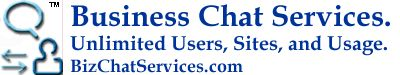 Business Chat Services™ also known as Biz Chat Services™ increases sales up to 50%.  Best online chat services provider that gives Free Installs, Unlimited Agents, unlimited Sites usage, and unlimited Usage of chat.  © reserved.