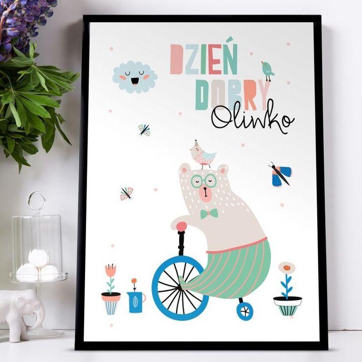 Plakat personalizowany 31x41 cm MIŚ