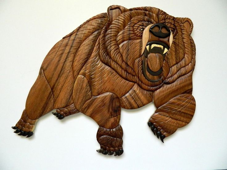 12 Best Carnivores Intarsia Wood Art By Ben Images On