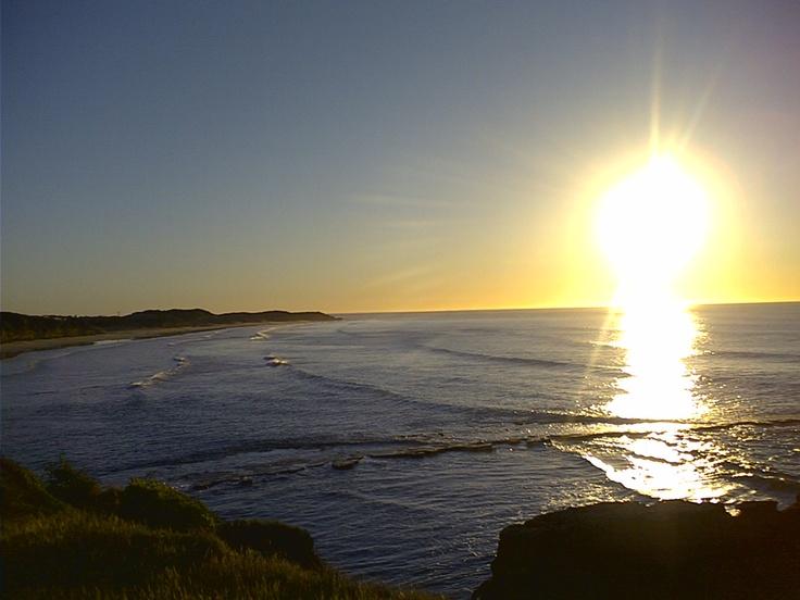 Point Danger Sunrise Torquay Victoria Australia