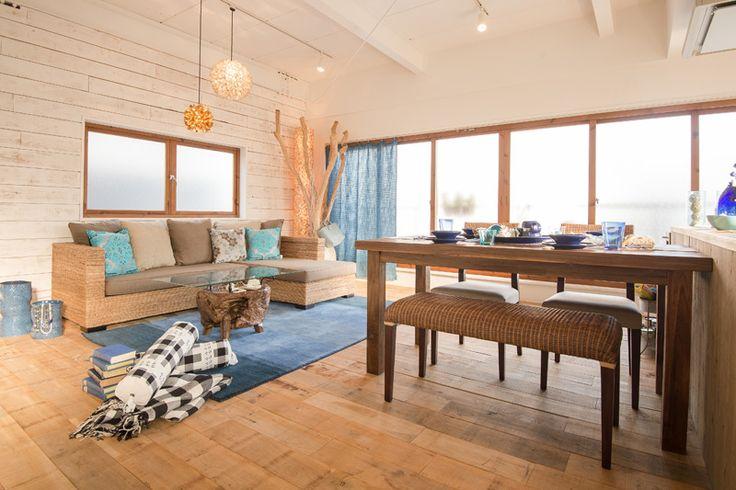 KAJAインテリアコーディネート シーサイドスタイル リゾートファニチャー アジアン家具