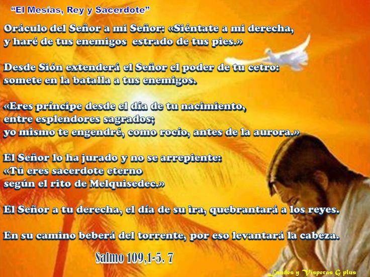 II #VÍSPERAS http://www.liturgiadelashoras.com.ar/sync/2016/mar/13/visperas.htm Himno Ant 1. Así como fue levantada en alto la serpiente en el desierto, así deberá ser levantado en alto el Hijo del hombre. Salmo 109, 1-5. 7 Salmo 113 A - ISRAEL LIBRADO DE EGIPTO; LAS MARAVILLAS DEL ÉXODO. Ant 3. Él fue herido por nuestras rebeldías, triturado por nuestros crímenes, por sus llagas hemos sido curados. Hch 13, 26-30a Ant. Mujer, yo no te condeno; vete, y en adelante no peques más Cántico de…