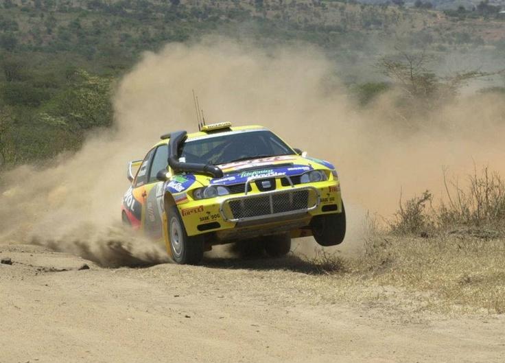 Didier Auriol-Denis Giraudet. SEAT Córdoba WRC. Safari Rally 2000