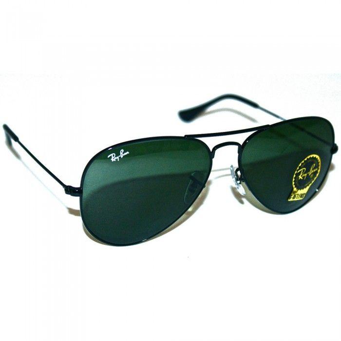 Ray-Ban Sunglasses, Mens Aviators | RB3025 | L2823 | Green Black | Sale | UK | Designer Man #rayban #classic #style