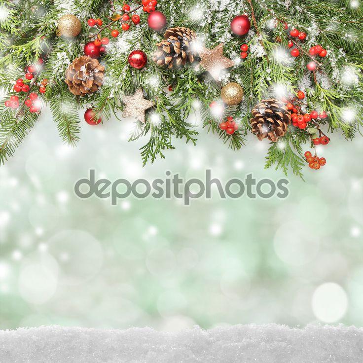Скачать - Зимой или Рождественский фон — стоковое изображение #56947231