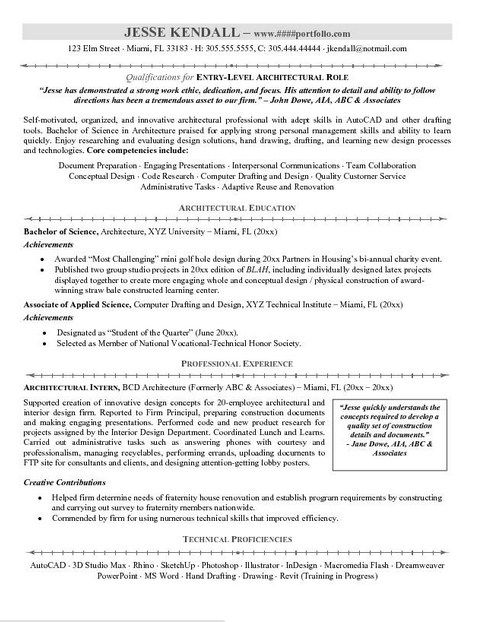 Examples Of Resume Objectives For Entry Level