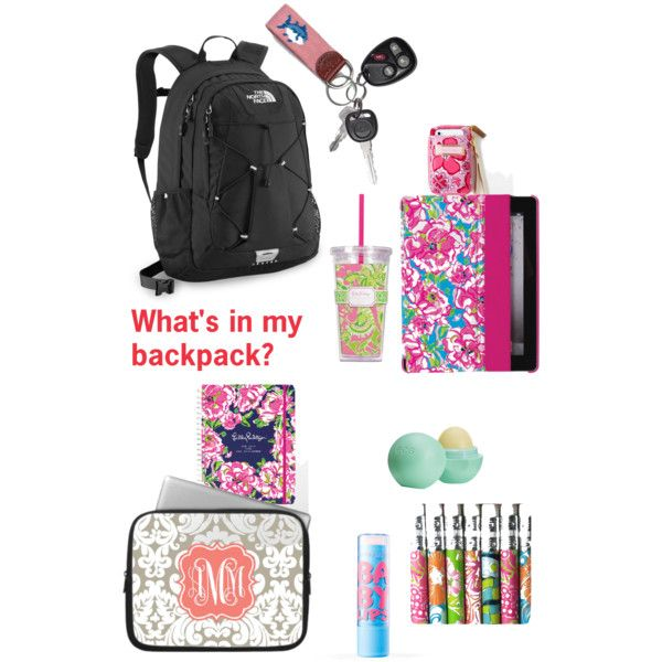 """What's in my backpack?"""