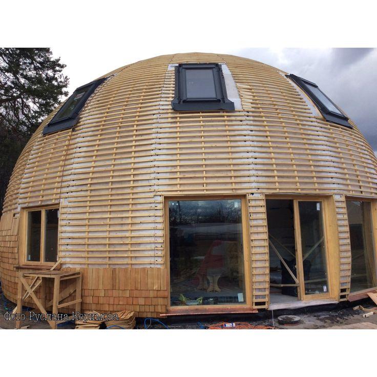 1372 best SphericalGeodesicDome houseMonolitic Fuller structure