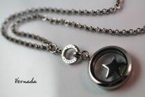 Vernada Design NO MORE EXCUSES -siro ketju, TERÄS, medanjonki  #Vernada #jewelry #koru #teräskoru #ruostumatonteräs #stainless #steel #suomestakäsin #käsityökortteli #finnishdesign #finnishfashion