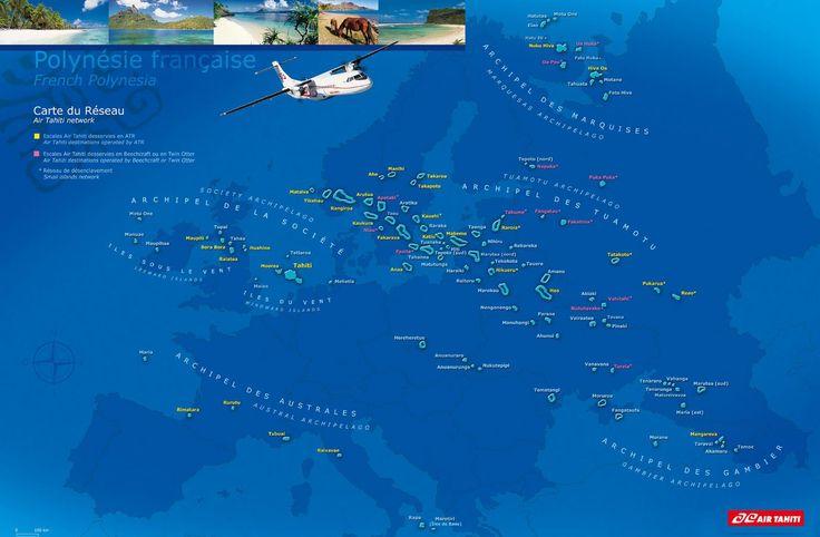 Itinéraires conseillés en Polynésie française