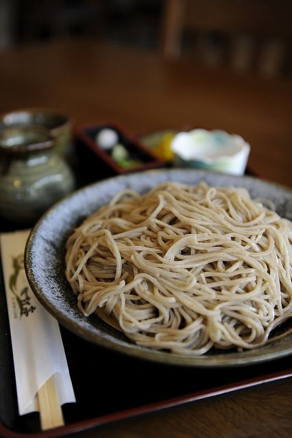 Soba, buckwheat noodles in Takayama, Gifu, Japan 荘川そば One of the most delectable simple meals!