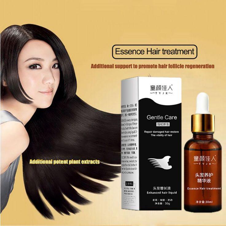 Natural Snail Care Hair Loss Treatments Essence Liquid Hair Raise Dense 30ml