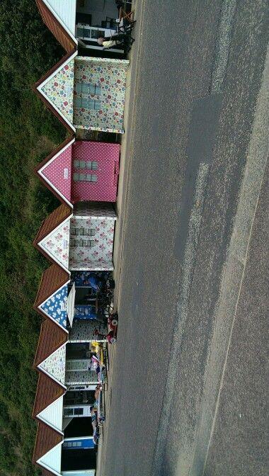 Cath kidson beach huts Bournemouth