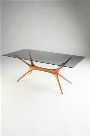 Occasional table, designed by Tapio Wirkkala for Asko, Finland. 1958.