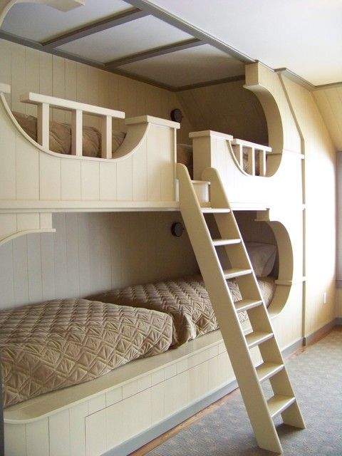 Built In Traditional Bunkbeds