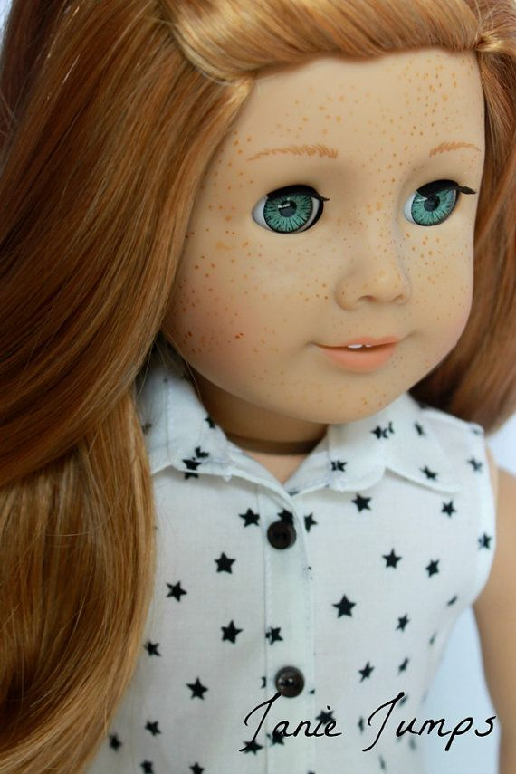 Star Tunic  American Girl Doll Clothes par JanieJumps sur Etsy (this doll!!!!)