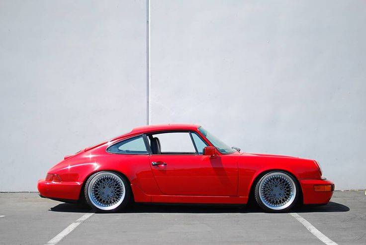 Porsche 964 beautiful example of german engineering even if it is slightly modified