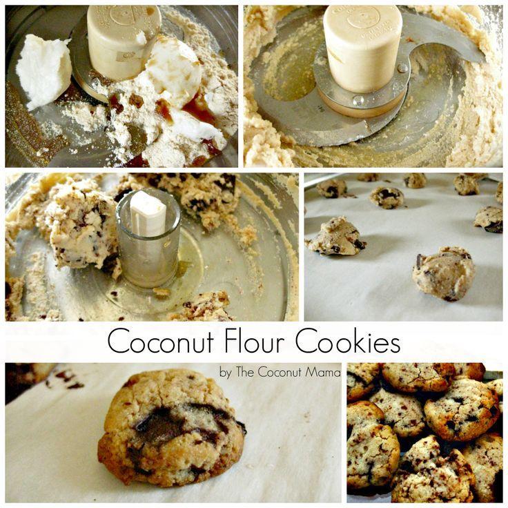 coconut flour chocolate chip cookies coconut flour coconut oil honey ...