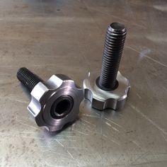 Socket Head cap screw press fit & aluminium handle