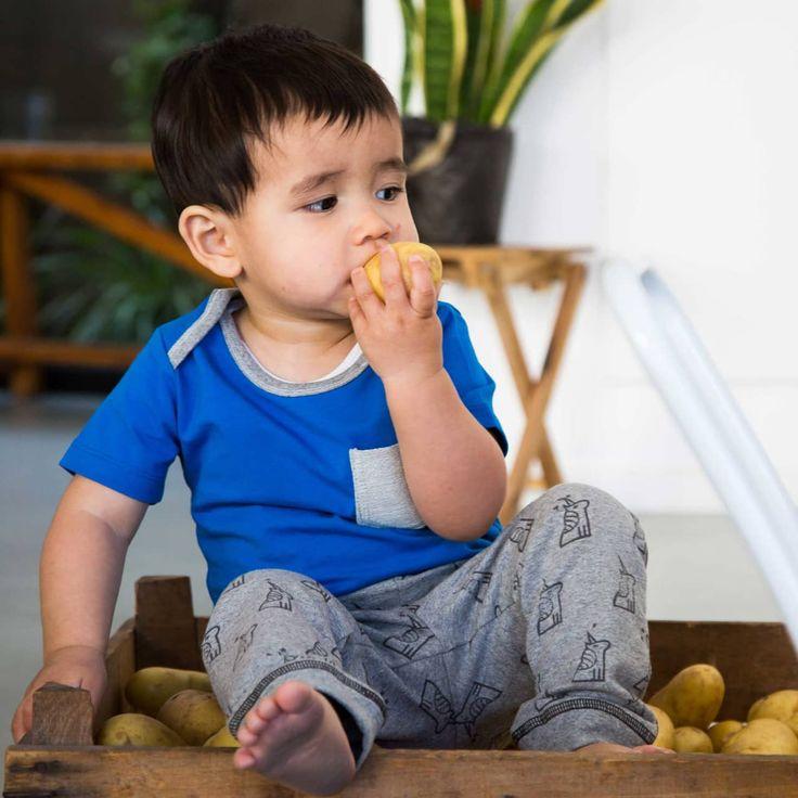 Blue T-shirt | My Sweet Potato