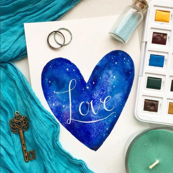 Трогательные и романтичные рисунки, которыми вы поделились в Инстаграм
