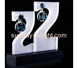 Factory wholesale jewelry stands acrylic retail jewelry display holder for earrings  JDK-109