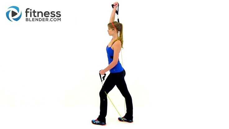 Sexy Arms Workout – At Home Resistance Band Workout for the Upper Body – Exercis…