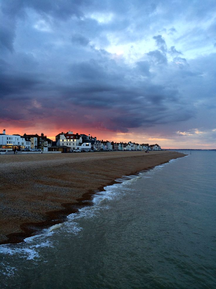 Beach Street sunset